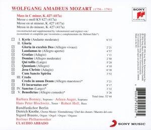 Große Messe in C Moll KV 427 (417a)