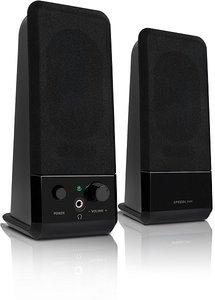 Speedlink EVENT Stereo Speakers, Lautsprecher, schwarz