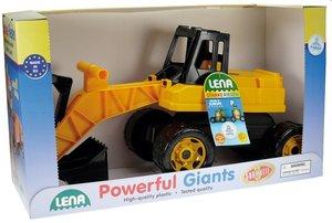Lena 02047 - Starke Riesen: Bagger, schwarz/gelb