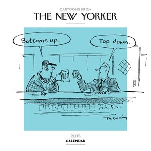 Cartoons from the New Yorker 2015 Wall