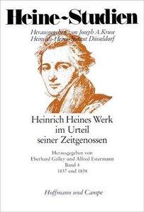Heinrich Heines Werk im Urteil seiner Zeitgenossen