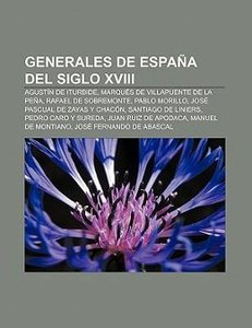 Generales de España del siglo XVIII