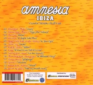 Amnesia Ibiza-Cuarta Sesion Chill Out