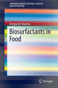 Biosurfactants in Food