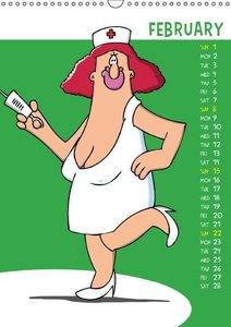 Fully Erotic 215 (Wall Calendar 2015 DIN A3 Portrait)