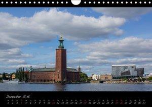 Stockholm und seine Schären (Wandkalender 2016 DIN A4 quer)