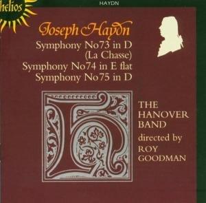 Sinfonien 73,74,75
