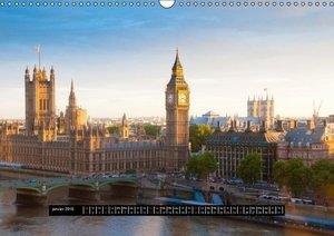 Londres - Les plus beaux fleuves, lacs et canaux (Calendrier mur