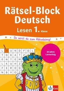 Rätsel-Block Deutsch. Lesen 1. Klasse