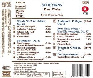 Klav.Sonate 2/Nachtstücke/+