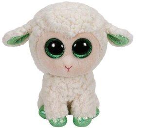 LaLa - Lamm weiss mit grünen Hufen, 15cm