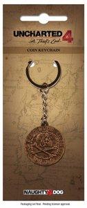 Uncharted 4 - Schlüsselanhänger Pirate Coin