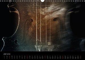 Musica furiosa (Wandkalender 2016 DIN A3 quer)