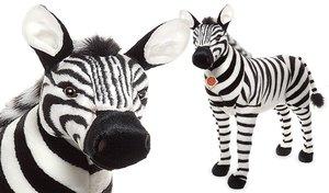Teddy Hermann 90280 - Zebra stehend 80 cm