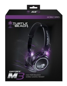 Turtle Beach Ear Force M3 - Silver (headset)