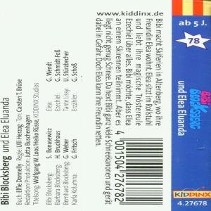 Bibi Blocksberg 78. und Elea Eluanda. Cassette