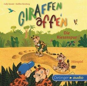 Giraffenaffen 04 - Die Riesenspur (CD)