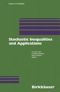 Stochastic Inequalities and Applications