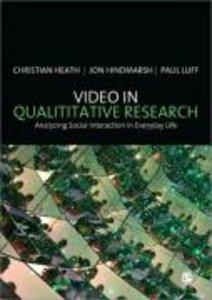 Video in Qualitative Research