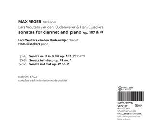 Sonatas For Clarinet and Piano