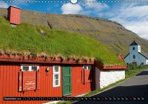 Faroe Islands / UK-Version (Wall Calendar 2015 DIN A3 Landscape)