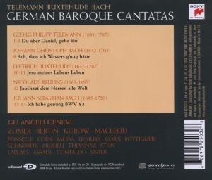 German Baroque Cantatas