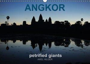 Angkor petrified giants (Wall Calendar 2015 DIN A3 Landscape)
