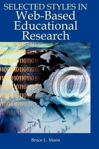 Selected Styles in Web-Based Educational Research