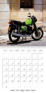 CLASSIC BIKES IN CUBA (Wall Calendar 2015 300 × 300 mm Square)