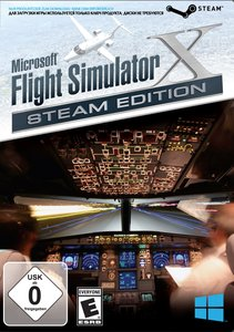 Microsoft Flight Simulator X - Steam Edition (Code-in-a-Box)