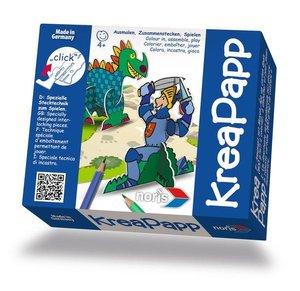 KreaPapp Drache