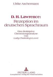 D.H. Lawrence: Rezeption im deutschen Sprachraum