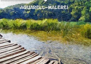 Aquarell-Malerei Kalender