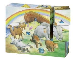 Würfelpuzzle Arche Noah