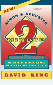 Simon & Schuster Two-Minute Crosswords Vol. 4