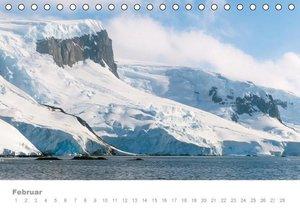 ANTARKTIS (Tischkalender immerwährend DIN A5 quer)
