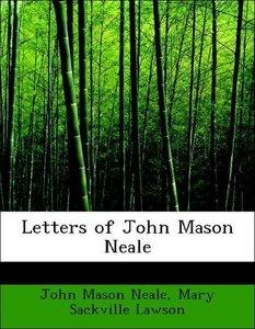 Letters of John Mason Neale