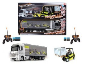 Simba Dickie 201119877 - RC Mercedes Benz Actros und Gabelstaple