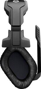 Headset HCC Wired Mono Chat, Kopfhörer mit Mikrofon