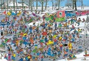 Jumbo Spiele 02049 - Jan van Haasteren: Auf der Eisfläche