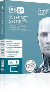 ESET Internet Security 2017 Edition (3 PC/1 Jahr)