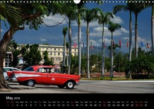 Cuba Cars (UK - Version) (Wall Calendar 2016 DIN A3 Landscape)