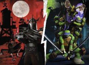 Ninja Turtles gegen Shredder. Puzzle 100 Teile XXL