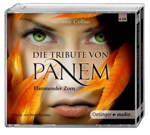 Die Tribute von Panem. Flammender Zorn (6 CD)