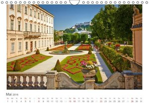 Goldenes Salzburg - fotografiert von Andreas Riedmiller (Wandkal