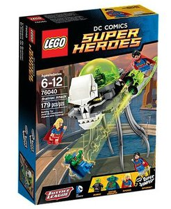 LEGO® Super Heroes 76040 - Brainiacs Attacke
