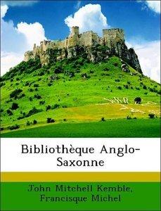 Bibliothèque Anglo-Saxonne