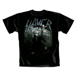 Slayer T-Shirt Soldier Cross (Size S)
