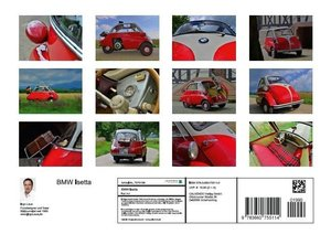 BMW Isetta (Posterbuch DIN A4 quer)