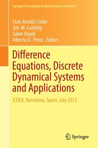 Difference Equations, Discrete Dynamical Systems and Application